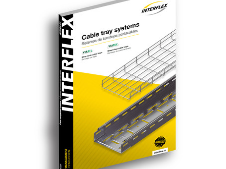¡NUEVO CATÁLOGO! Sistemas de bandejas para la conducción de cables de INTERFLEX