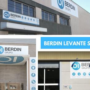 Berdin Castellón SL y Berdin Valencia SL se fusionan en Berdin Levante SL