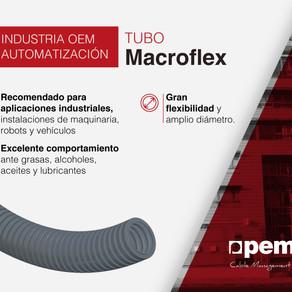 Tubo MACROFLEX de Pemsa, la mejor solución para cables de grandes diámetros
