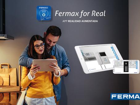 FERMAX lanza una nueva versión de FERMAX FOR REAL, la app de realidad aumentada para el profesional