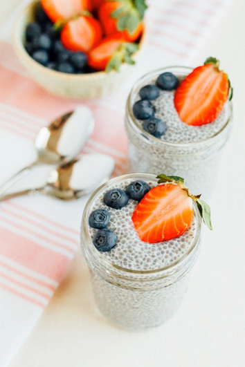 Cacao Infused Chia Seed Pudding - Recipe