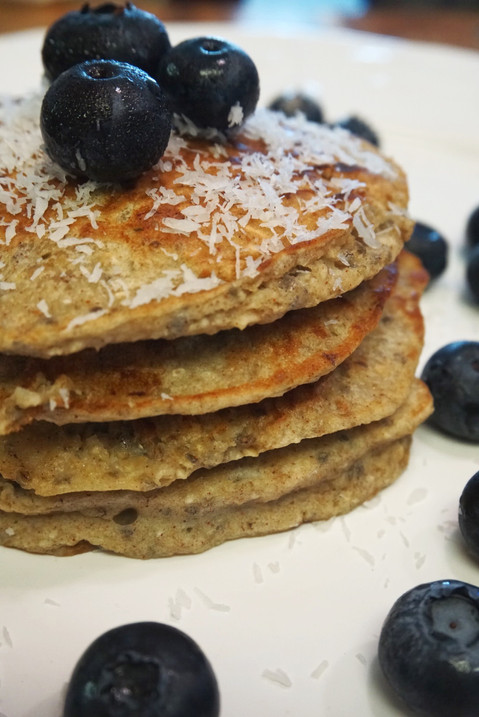 Boost your morning with these Banana-Oat Pancakes: Recipe