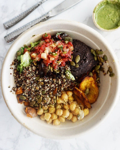 4 Steps for the ultimate plant-based bowl at home
