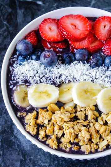 Traditional Acai Bowl at Home- Recipe