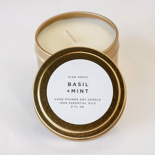 Basil & Mint Candle
