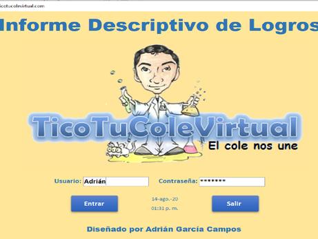 Informe Descriptivo de Logros