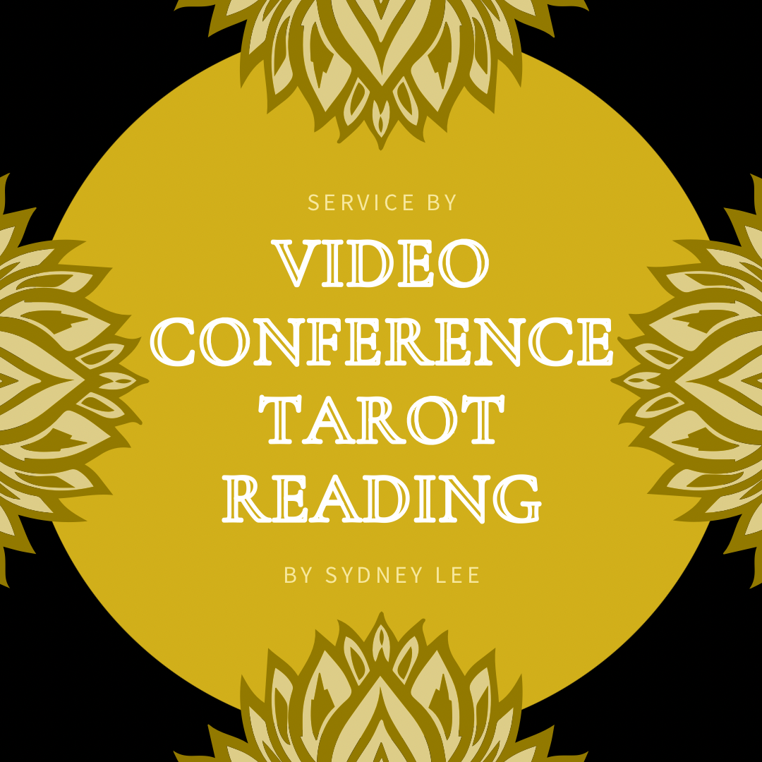 Video Conference Tarot Reading