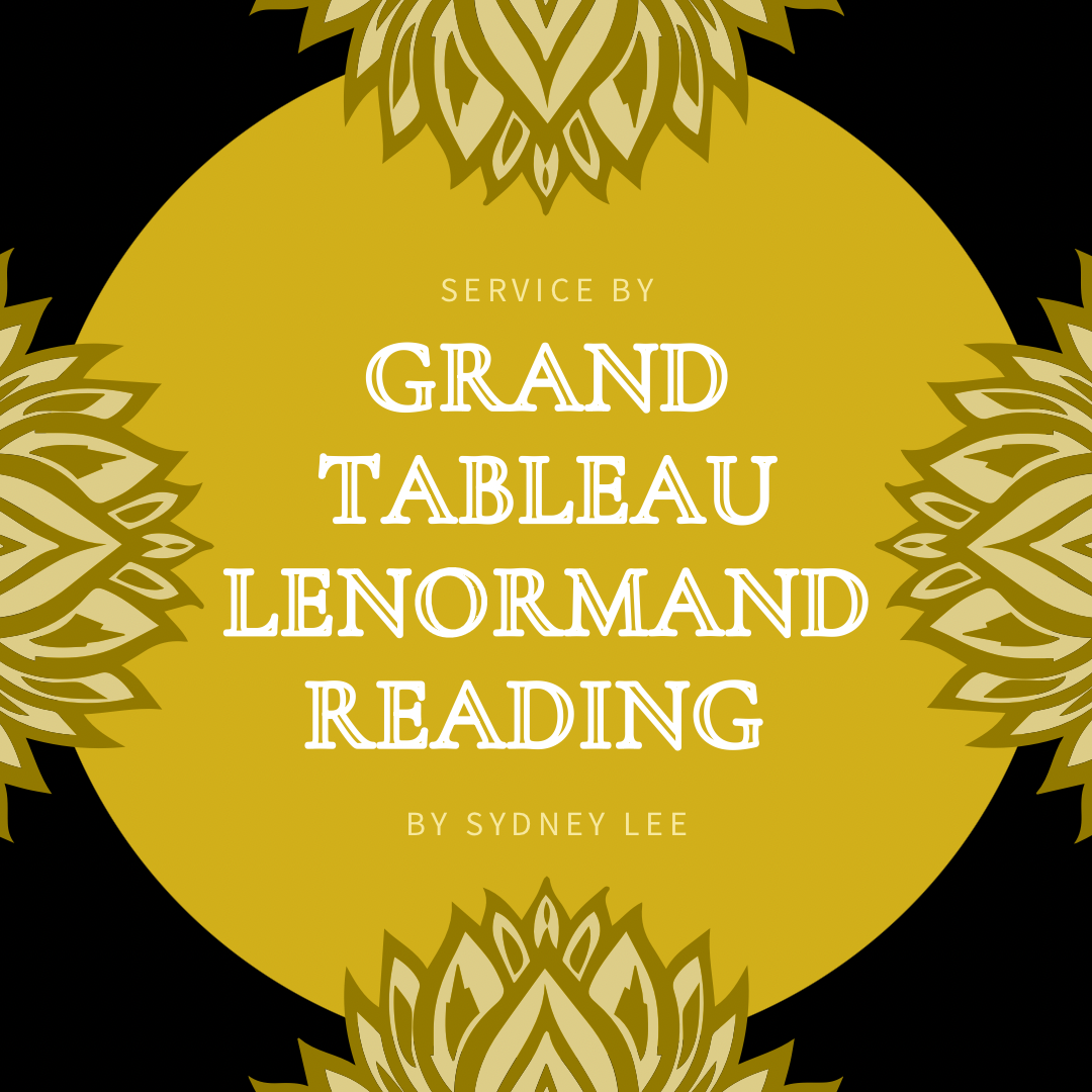 Grand Tableau Lenormand Reading