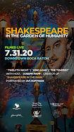 Shakes in the Garden Boca Raton Flyer 2020