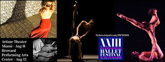 XXIII International Ballet Festival collage of Performers
