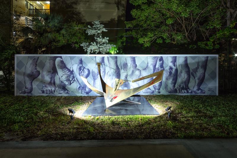 COAT mural, Martin Ron