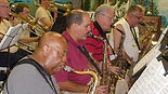 South Florida Jazz band rehearsal in the second Grace Arts Center 2013