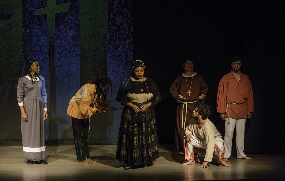 Cast of Shakespeare's La Florida
