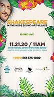 Shakes in the Gallery Garden Hobe Sound 2020 Flyer