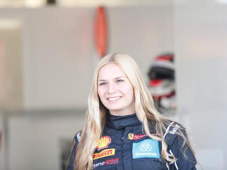 Fabienne Wohlwend shines again at Ferrari World Finals