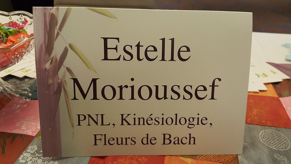 Estelle Morioussef PNL, Kinesiologie, Fleurs de Bach