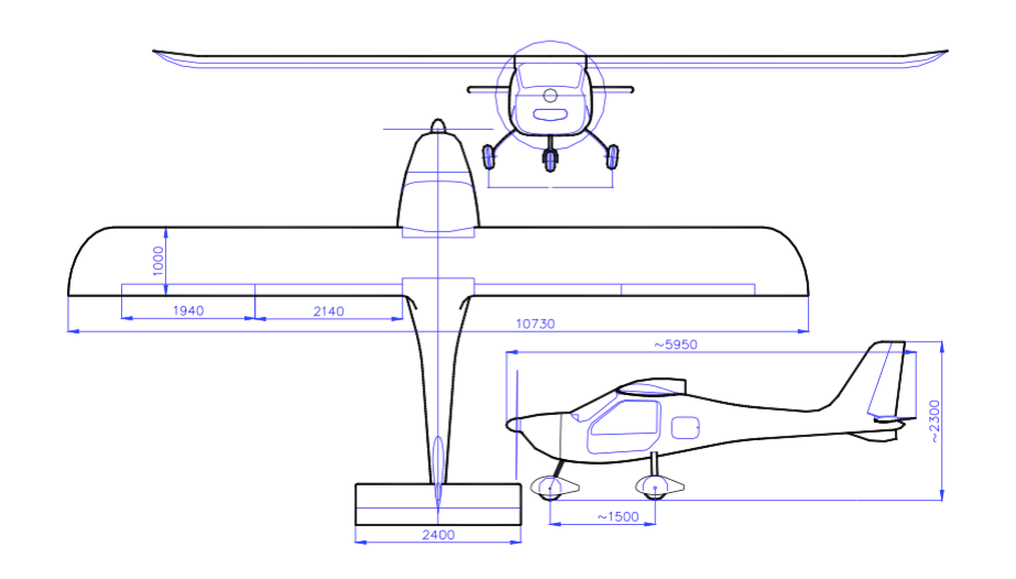 Tooaz aircraft drawings