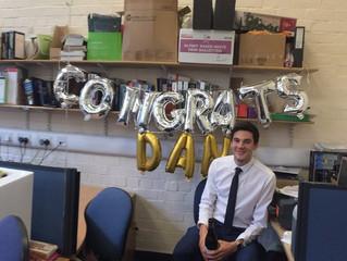 Congratulations Dr Ward!