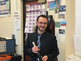 CONGRATULATIONS to Adam for passing his PhD viva