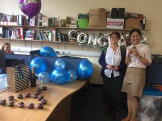 Congratulations Dr Liu!