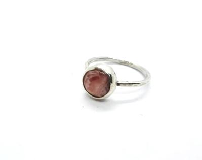 Mini anillo Rodocrosita