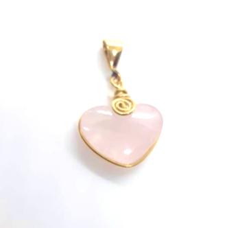 Mini sanador corazón rosa