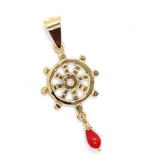 Amuleto Rueda del Dharma
