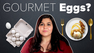 I Tried To Cook A Gourmet Meal With Eggs | BuzzFeed India