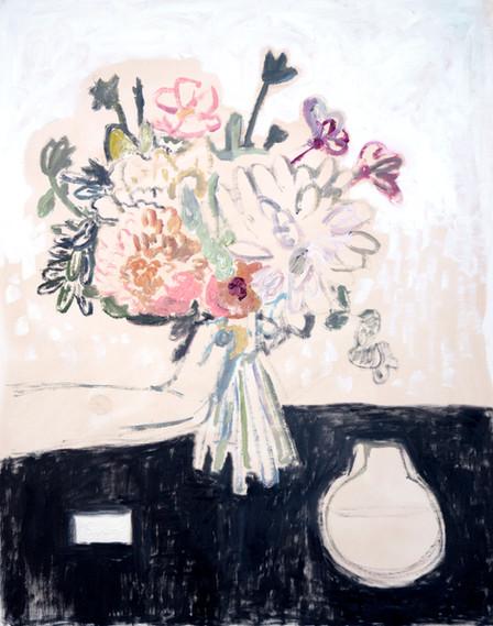 Bouquet in Hand, Left