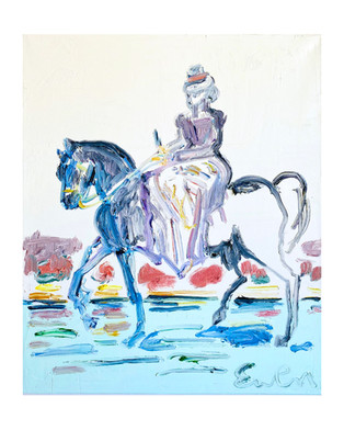 Riding Lady