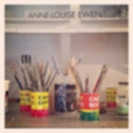 Anne-Louise Ewen's Art Studio