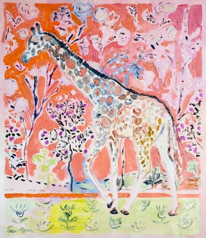 Giraffe Facing Left