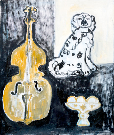 Still Life With Upright Bass