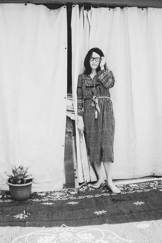 Ewen At Door Of Studio