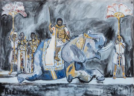 Radames goes to war (Aida)