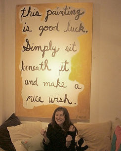 Good Luck Painting, Anne-Louise Ewen