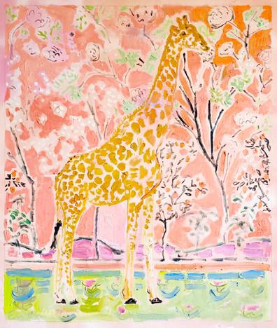 Giraffe Facing Right