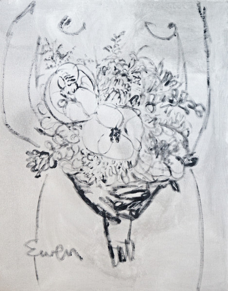 Bouquet With Nude No. 2