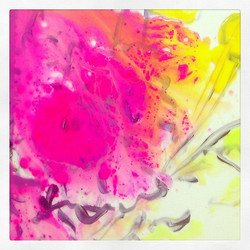 Lucite Painting by Anne-Louise Ewen