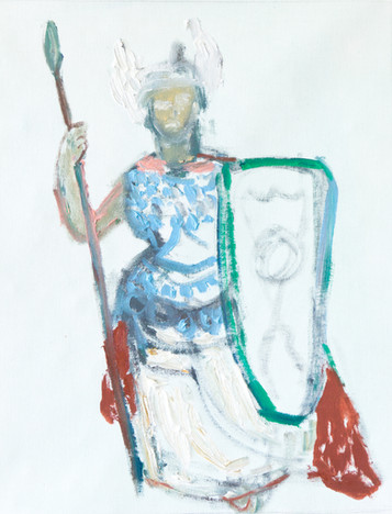 Valkyrie with Shield and Spear