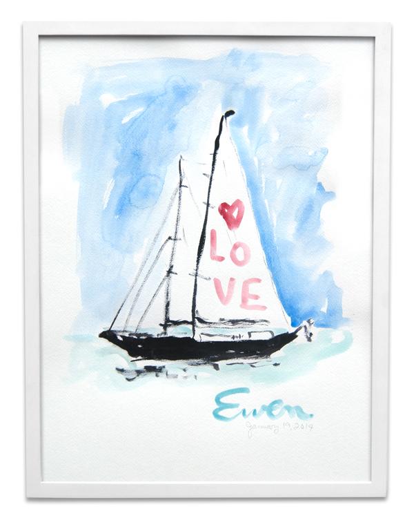 Sailboat Love