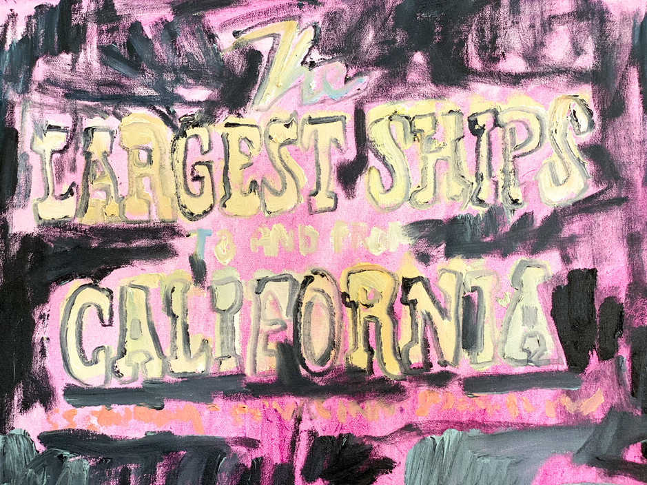 The Largest Ships to and from California