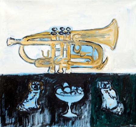 Still Life With Trumpet