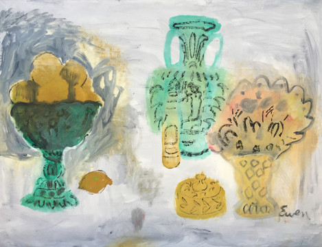 Still Life With Antiquities And Beer