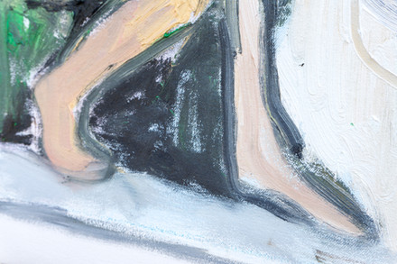 Nude in Hat (detail)
