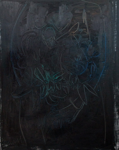 Night Painting No. 4 (with figure)