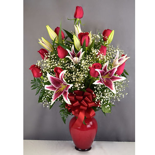 1 Dz. Roses & Lilies