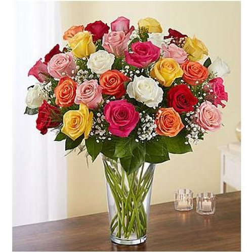3 Dz. Mixed Roses