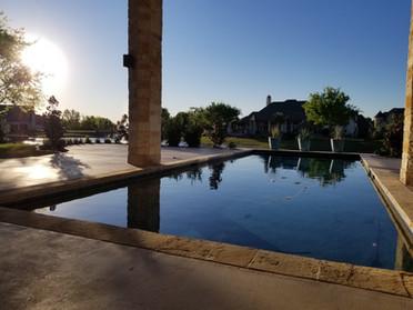 Rockwall Texas Pool Landscape