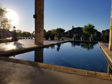 Rockwall Texas Pool Landscape